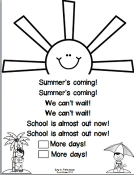 Summer's Coming! End of the Year Count Down