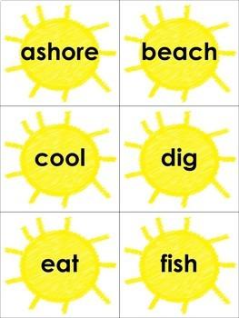 Summertime ABC Order