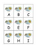 Summertime / Weather Alphabet: Uppercase & Lowercase Alphabet Games eBook