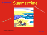 Summertime Book (students make their own book)