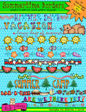 Summertime Borders Clip Art Download