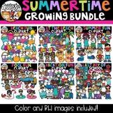 Summertime Clipart Growing Bundle {Summer Clipart}