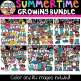 Summertime Clipart Growing Bundle {Summer Clipart}