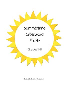 Summertime Crossword Puzzle