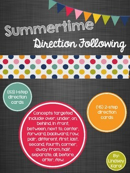 Summertime Direction Following