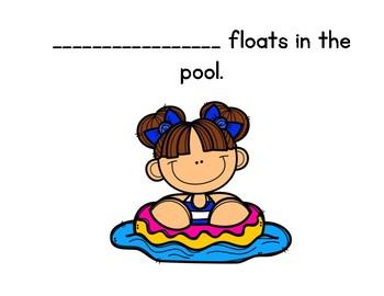 Summertime Floats Class book