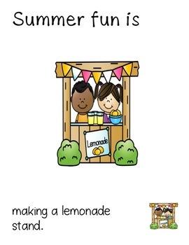 Summertime Fun Adapted Book Set
