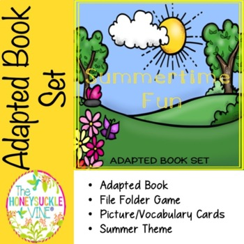 Summertime Fun Adapted Book Set