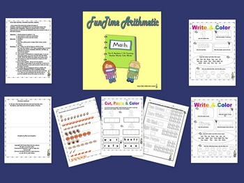 FunTime Arithmetic Numbers 1-10 for Pre-K