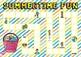 Summertime Fun (Summer themed Math game board)