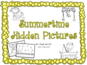 Summertime Hidden Pictures