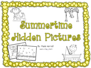 Summertime Hidden Pictures