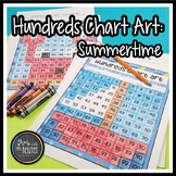 Hundreds Chart Art: Summertime (Mystery Picture)