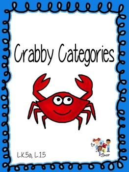 Summertime MINI Game Sets: #1 Crabby Categories