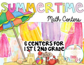 Summertime Math Centers