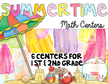 Summertime Math Centers