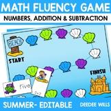 Math Fluency:  Summer FREE