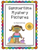 Summertime Mystery Pictures (With Adding Tens)
