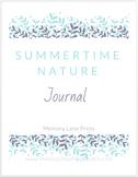 Summertime Nature Journal