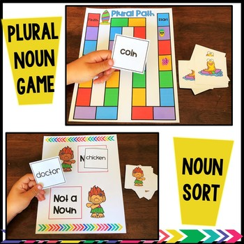 Summertime Noun Games & Activities