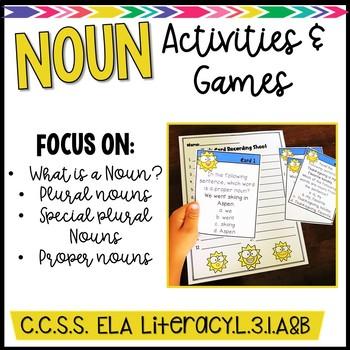 Summertime Noun Games & Activities