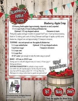 Summertime Picnic Recipe: Blueberry-Apple Crisp
