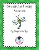 Summertime Poetry Activities/Warm Ups
