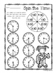 Summertime - Spin the Time: Telling time to the :00 (o'clock) / :30 (half hour)