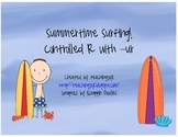 Summertime Surfing! Controlled R with -ur