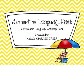 Summertime Thematic Language Pack