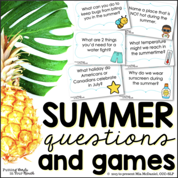 photograph relating to Fun Trivia Questions and Answers for Kids Printable called Summer time Trivia Thoughts Game titles for young children of all ages