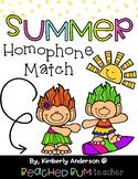 Summertime Trolls: Homophone Word Match Center