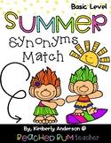 Summertime Trolls: Synonyms Match Center (Basic)