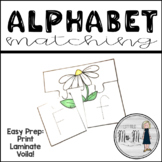 Summertime Upper and Lowercase Letter Match and Trace