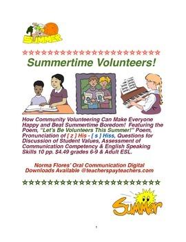 Summertime Volunteers!