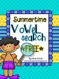 Summertime Vowel Search: Fun with a Magnifying Glass! {FREEBIE}