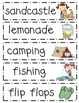 Summertime Word Wall Pack