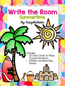 Summertime Write the Room