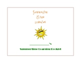 Summertime of Learning Booklet