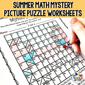 Summer Mystery 100 Grid Puzzles
