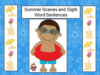 Sumner Scenes and Sight Word Sentences