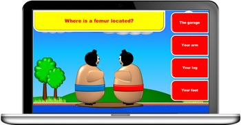 Sumo Bounce quiz game template