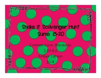 Sums 15-20 Scavenger Hunt