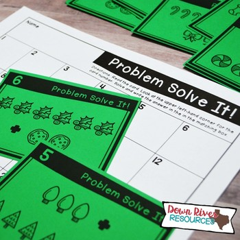 Sums 6-10 Math Task Cards | Addition | Action of Joining | Winter