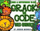 {Sums and Differences to 20} Crack the Code: Wild Animal