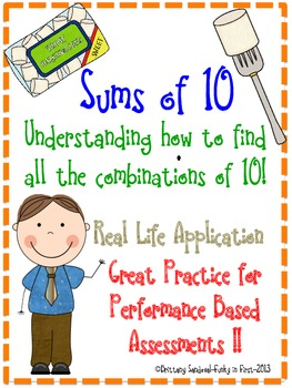 Sums of 10- Understanding the Combinations of Ten 1.0A.6
