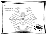 Sums of 10 spider web