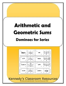 Sums of Arithmetic and Geometric Sequences - Dominoes for Series
