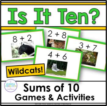 Sums of Ten ~ Wildcats!