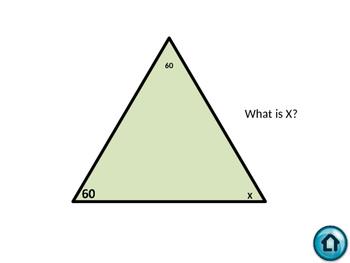 Sums of Triangles Jeoprady